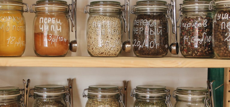 Keeping food properly stored in air tight containers will help keep pests away - pest control tips from Rentokil South Africa